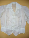 Parachute silk blouse Janet Godfrey collection