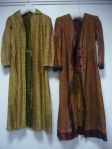 Victorian shawls made into 1940s coats/siren suits Snibston Museum collection