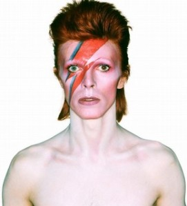 David Bowie Aladdin Sane by Brian Duffy